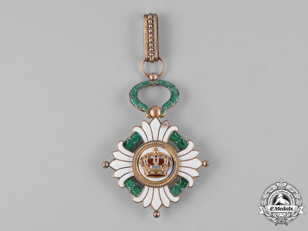 Yugoslavia, Kingdom. An Order of the Crown, III Class Commander, c.1940
