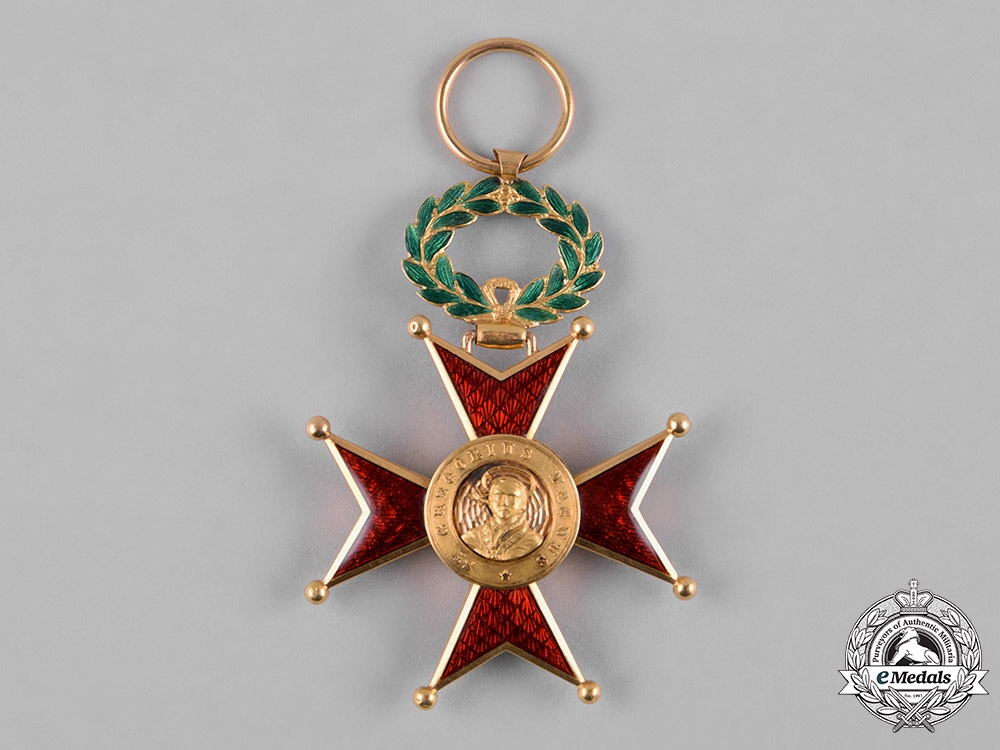 Vatican. An Order of St. Gregory the Great for Civil Merit in Gold, V Class Knight , c.1900
