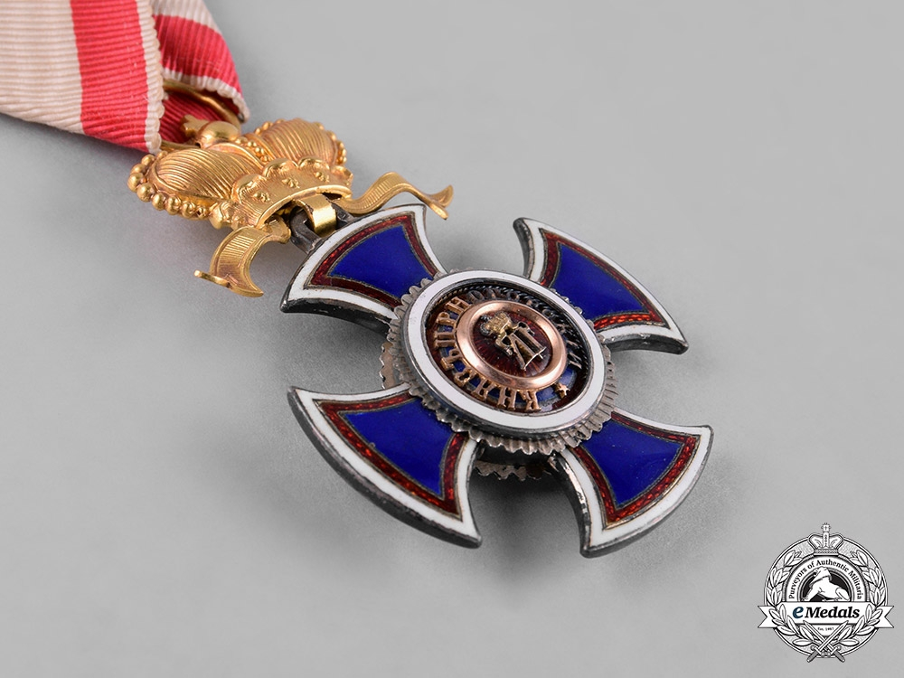 Montenegro, Kingdom. An Order of Danilo I, IV Class Officer, by V.Mayer, c.1910