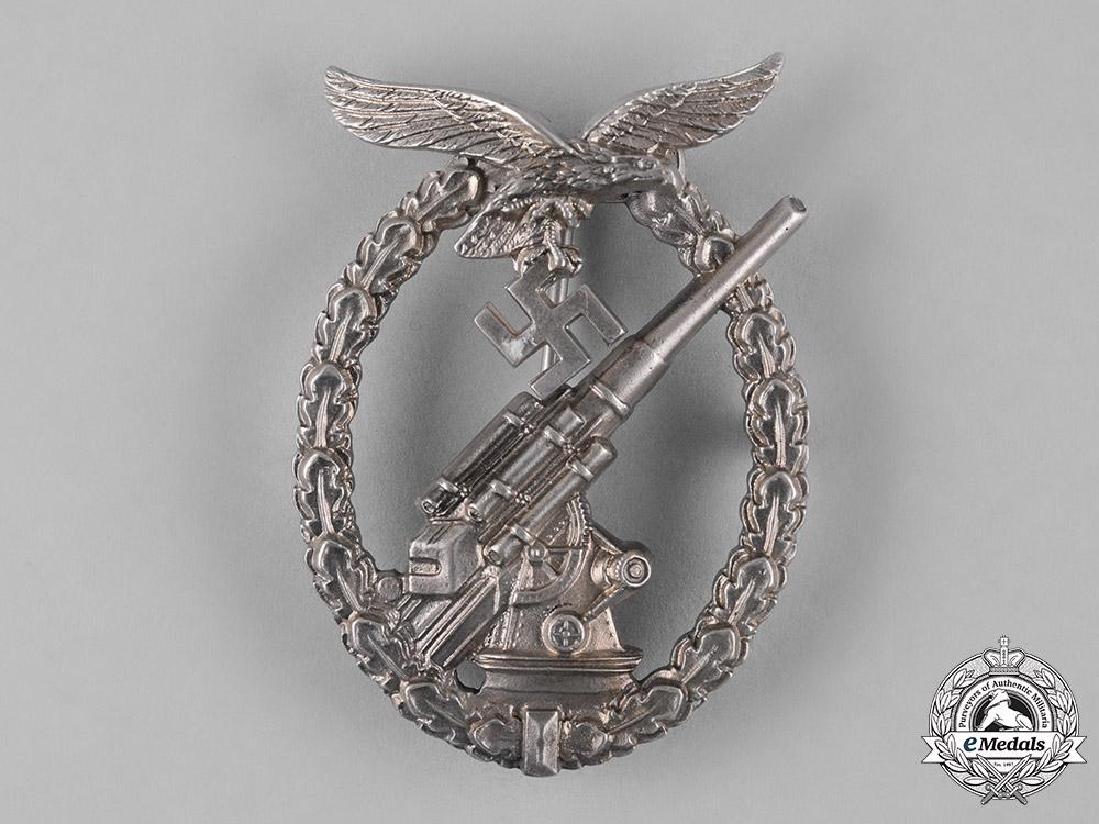 Germany, Luftwaffe. A Flak Badge, by C.E. Juncker