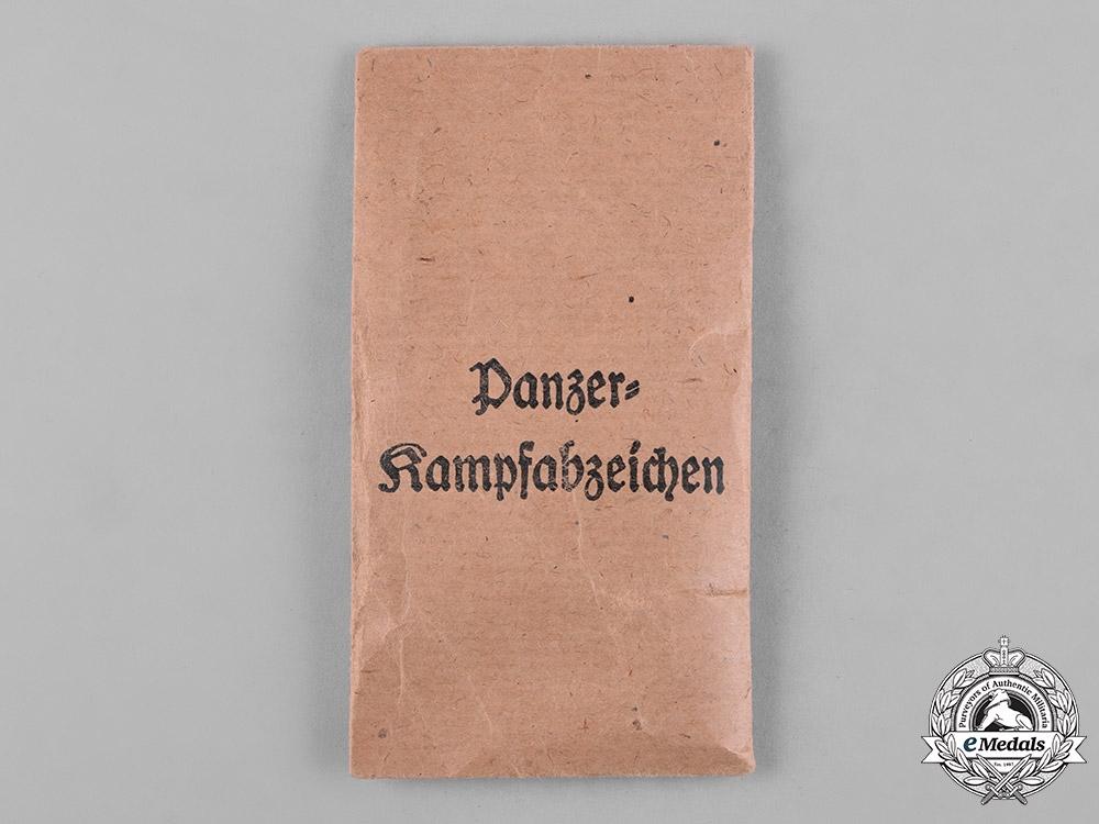 Germany, Wehrmacht. A Panzer Assault Badge, Silver Grade, by Edelmetallwerke List & Hertl