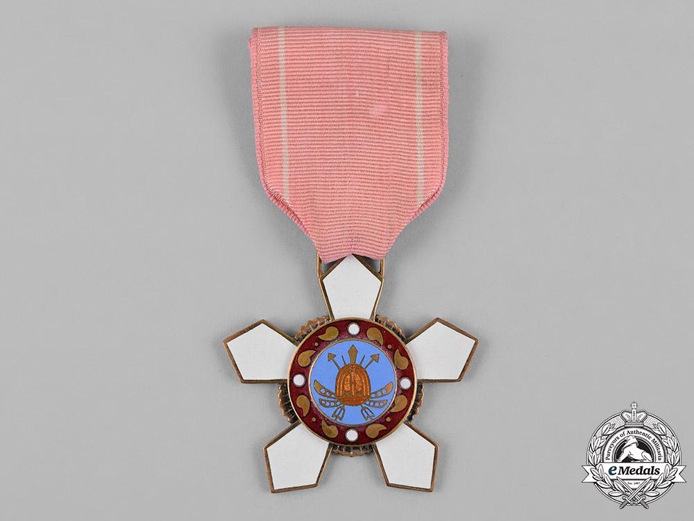 "Korea, Republic of South Korea. An Order of Military Merit, ""Hwarang"" IV Class Badge"