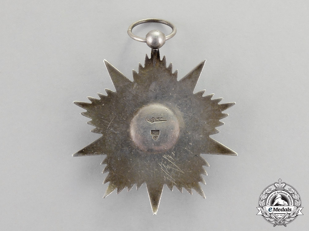 An Iranian Order of Glory (Nishan-I-Iftikhar), Silver Grade Star