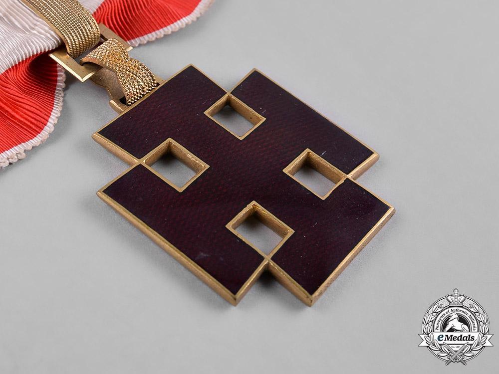 Austria, I Republic. A Merit Order, Commander Cross, c.1934