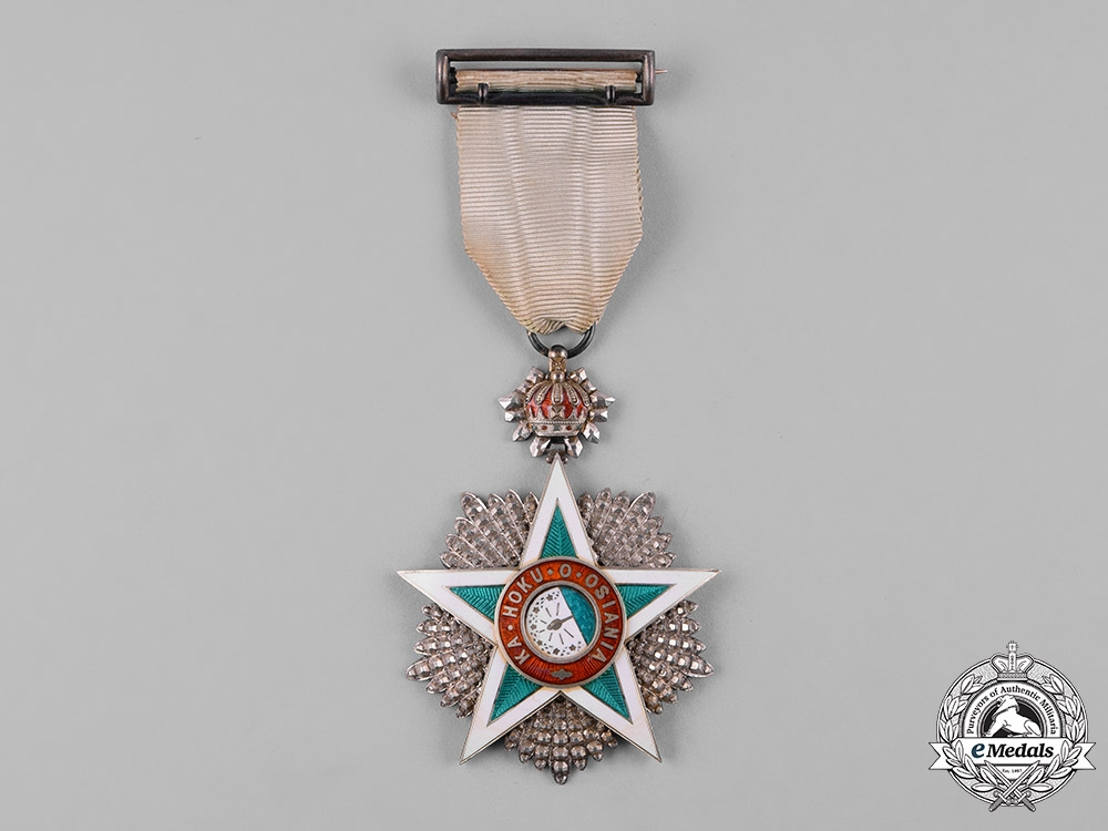 Hawaii, Kingdom. An Order of the Star of Oceania, IV Class Officer, c.1890