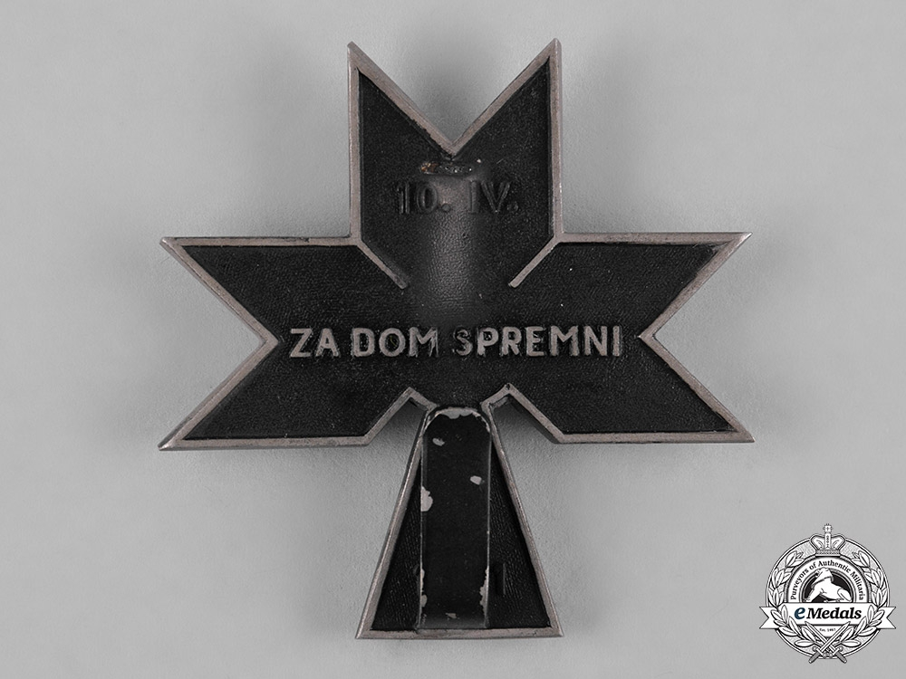 Croatia, Republic. An Order of the Iron Trefoil, II Class, c.1942