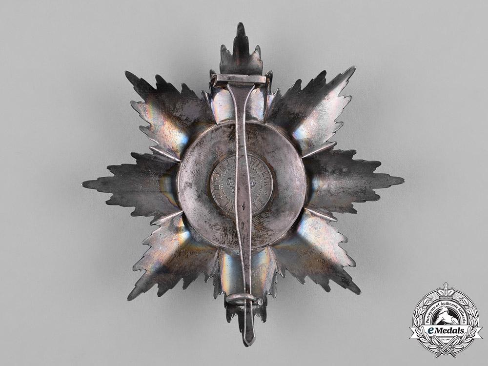 Netherlands, Kingdom. An Order of Orange-Nassau, I Class Grand Cross Star, by J.M.J van Wielik, c.1920