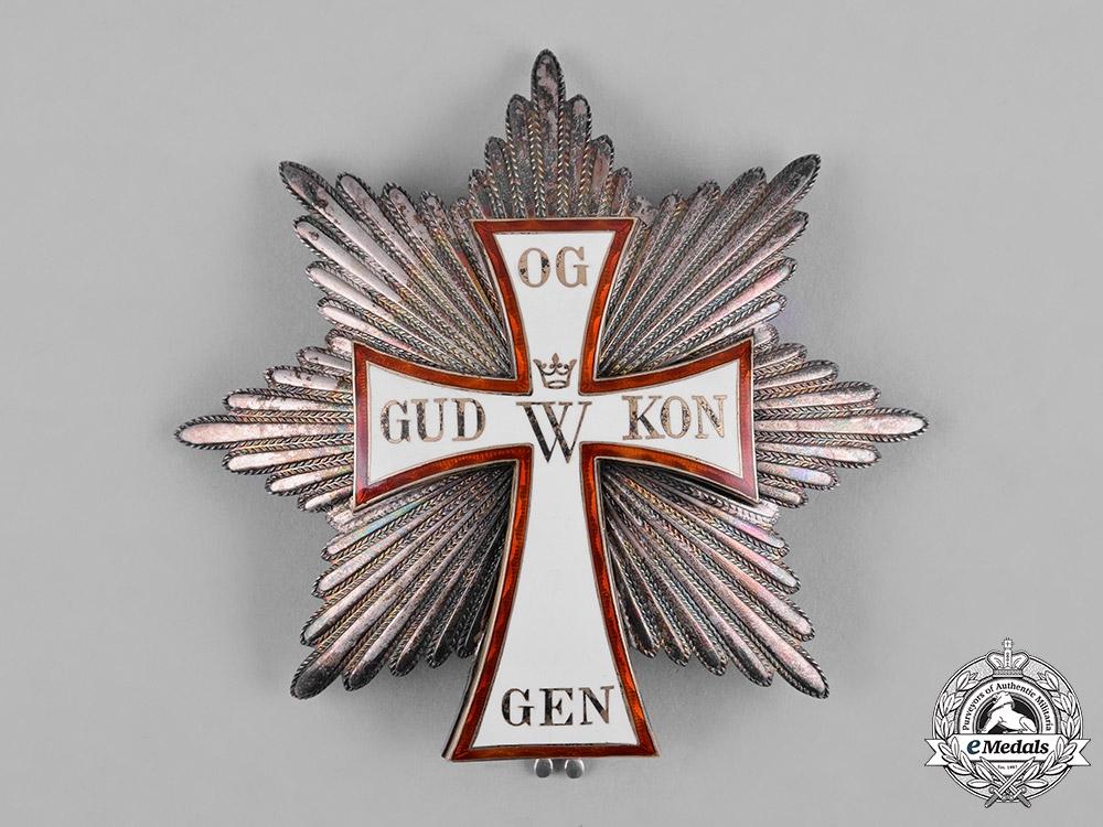 Denmark, Kingdom. An Order of Dannebrog, Grand Cross Star, by Anton Michelsen, c.1950