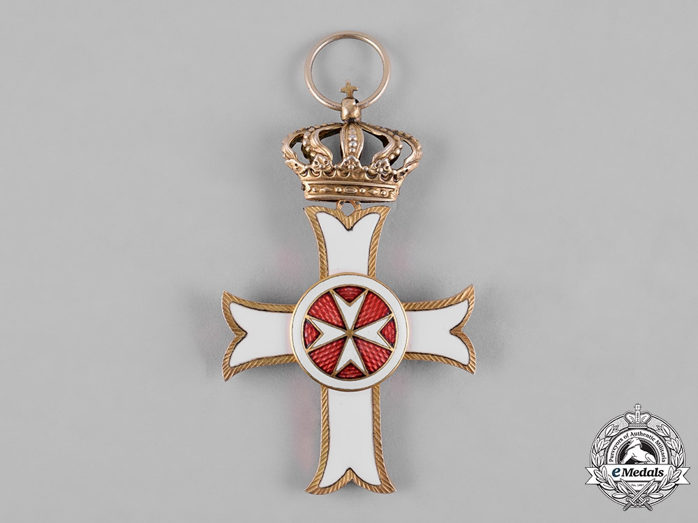 Austria, Imperial. A Sovereign Military Order of Malta, Order Pro Merito Melitensi, Grand Cross Badge, c.1920