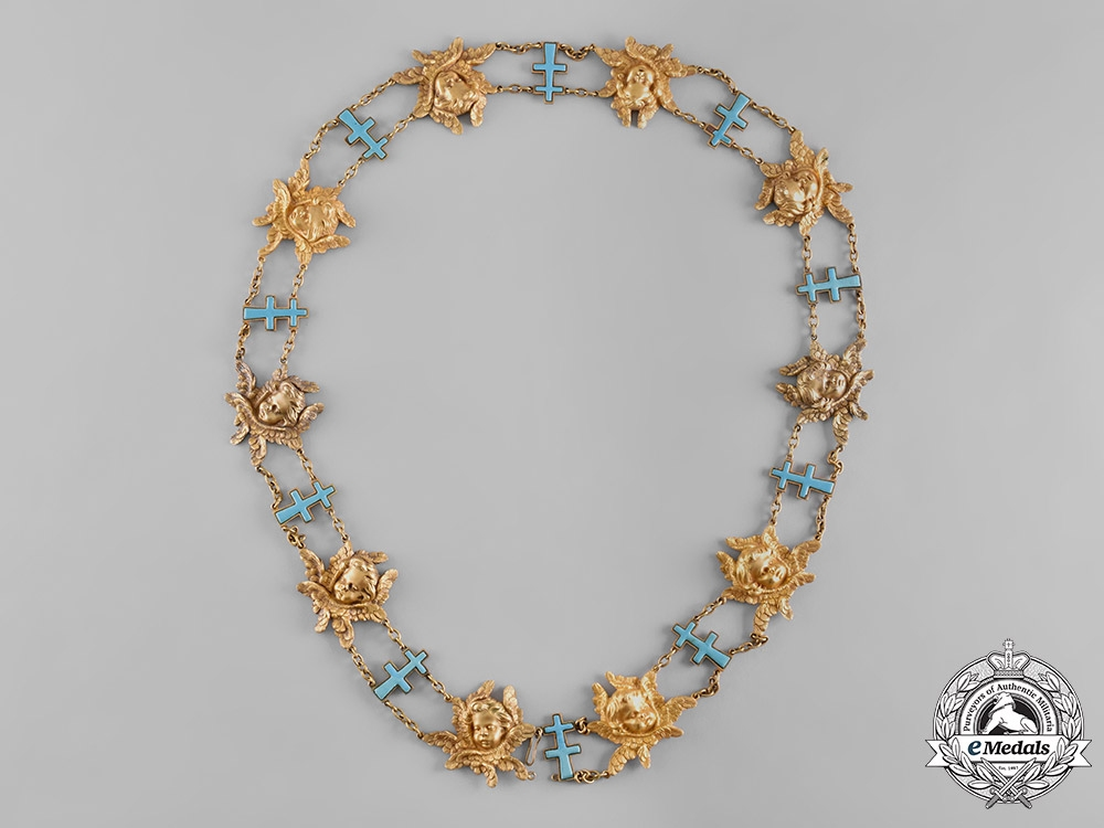 Sweden, Kingdom. A Most Noble Order of the Seraphim, Knight's Collar, c.1930