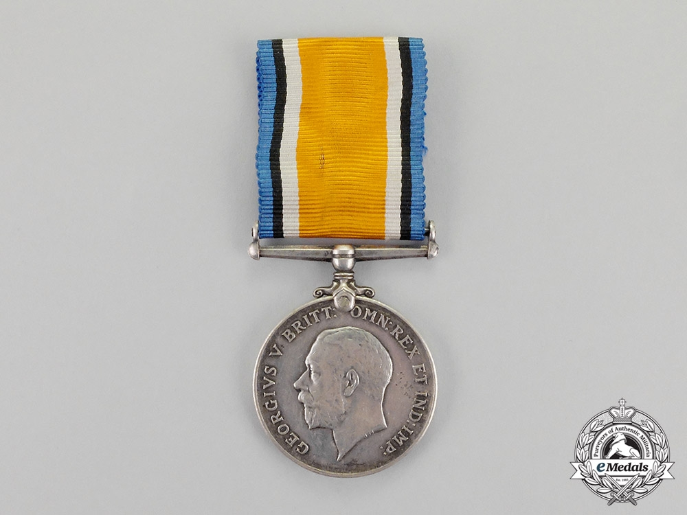 South Africa. A British War Medal to Colonel J. Baatjes, SA Field Artillery
