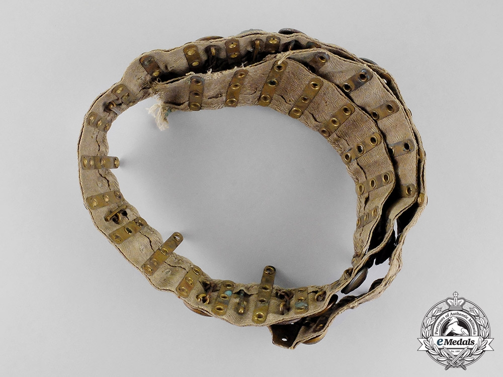 Germany, Imperial. An American Trophy Belt with Bavarian EM/NCO's Buttons, c.1918