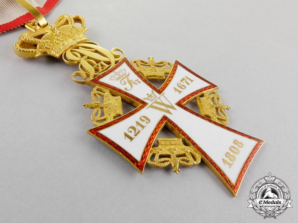 Denmark, Kingdom. An Order of Dannebrog, Commander, c,1882