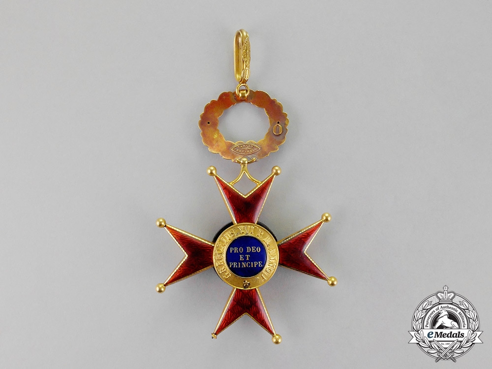 Vatican. An Equestrian Order of St. Gregory the Great for Civil Merit in Gold, Grand Cross Set