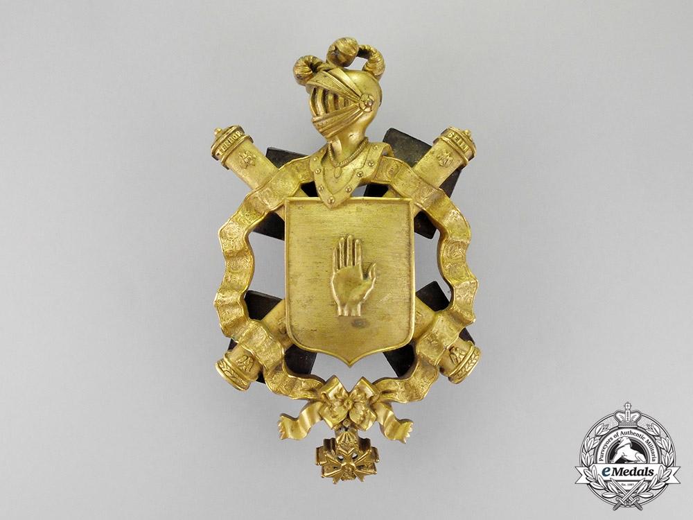 France, Napoleonic Kingdom. A Field Marshal's Carriage Shield