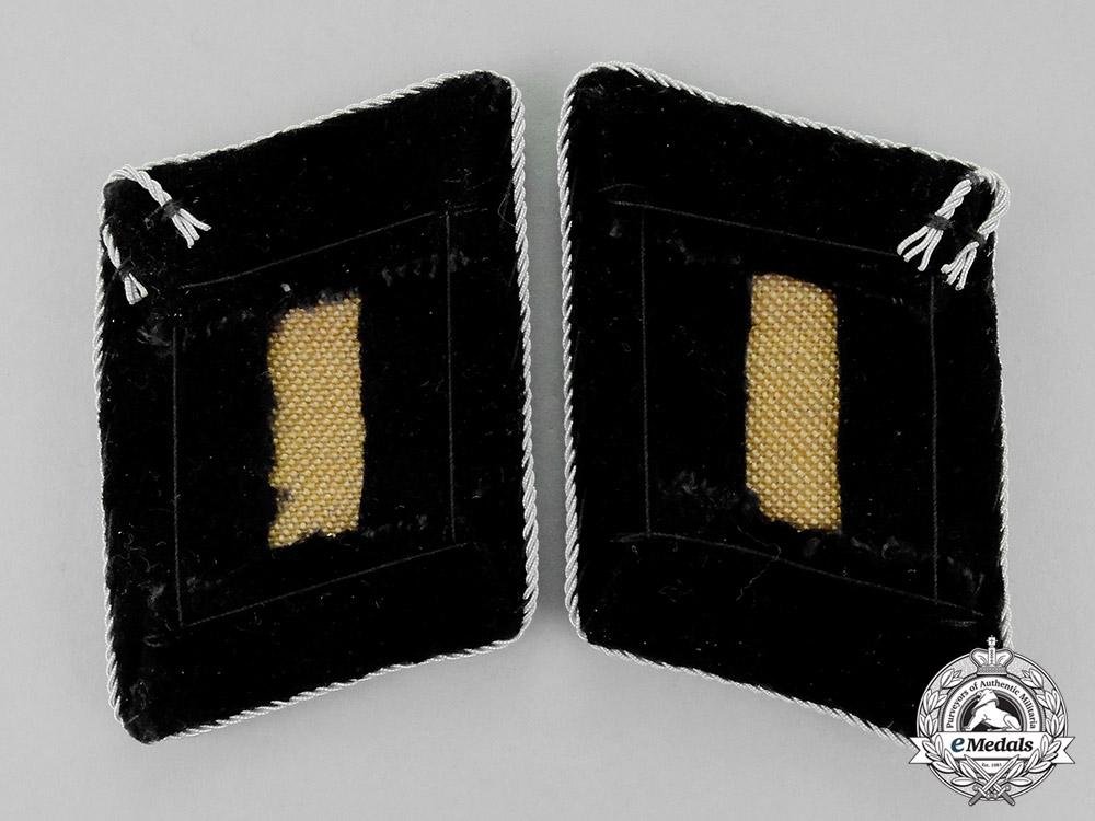Germany. A Set of Mint SS-Brigadeführer Rank Collar Tabs; Second Pattern