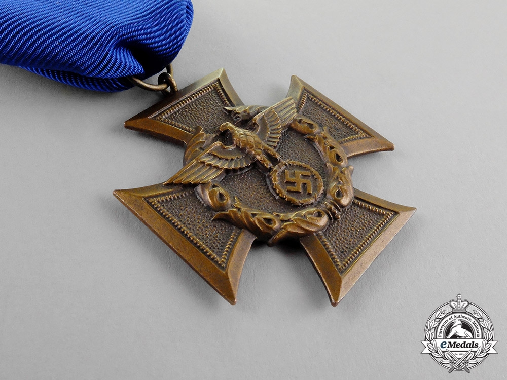 Germany. A Mint Border Protection (Zollgrenzschutz/Customs Protection) Long Service Award