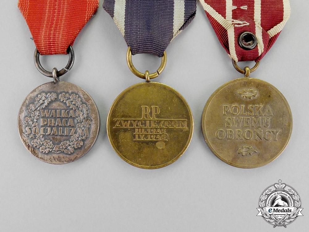 Poland. Three Medals & Awards
