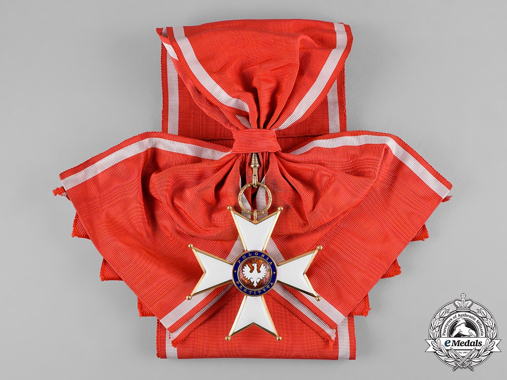 Poland, Republic. An Order of Poland Restituta, Grand Cross with Case