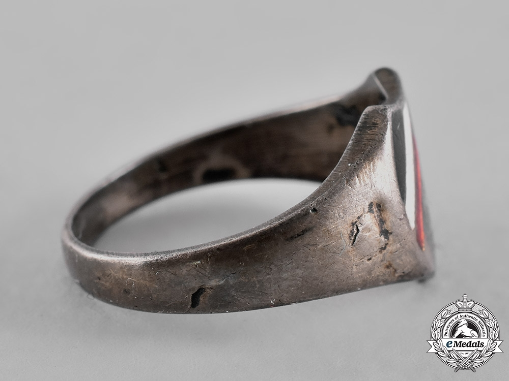 Germany, Imperial. An Army Silver Ring