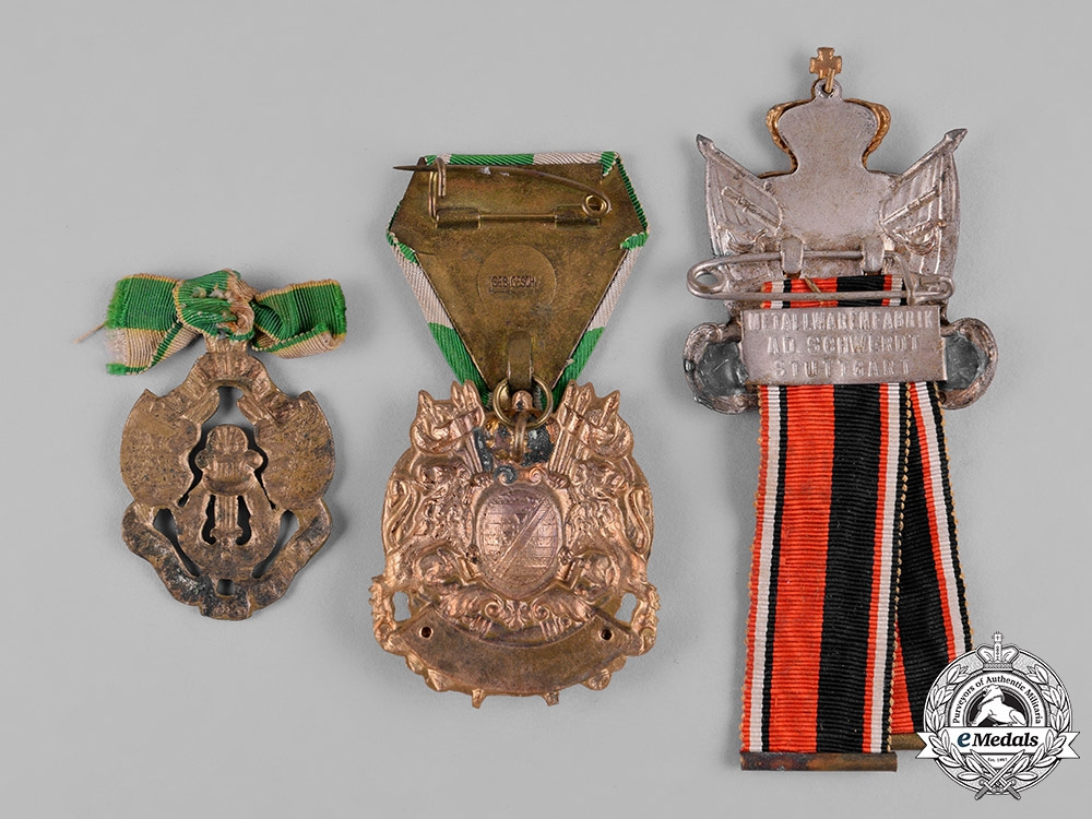 Germany, Imperial. A Lot of German Imperial Veterans Badges