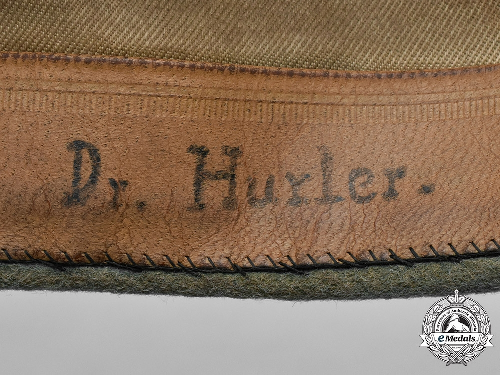 Germany, Heer. An Army Medical Personnel Officer's Overseas Side Cap