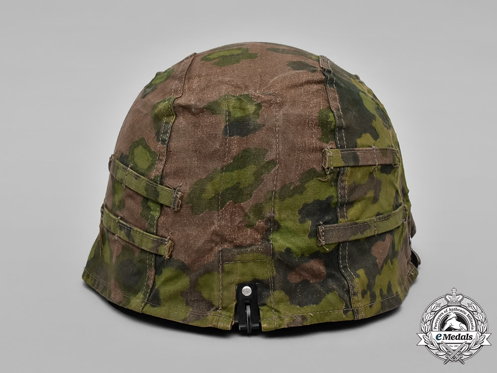 Germany, Waffen-SS. A Camouflage Helmet Cover