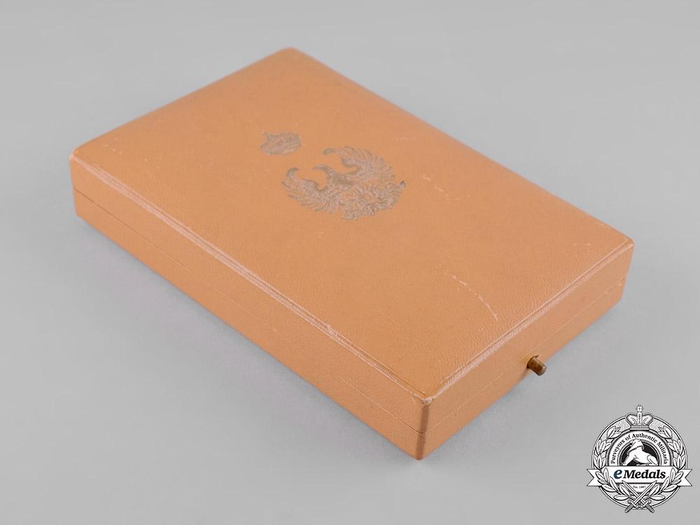 Greece. An Order of the Phoenix, Commander's Cross Case, by Huguenin Frères & Co.