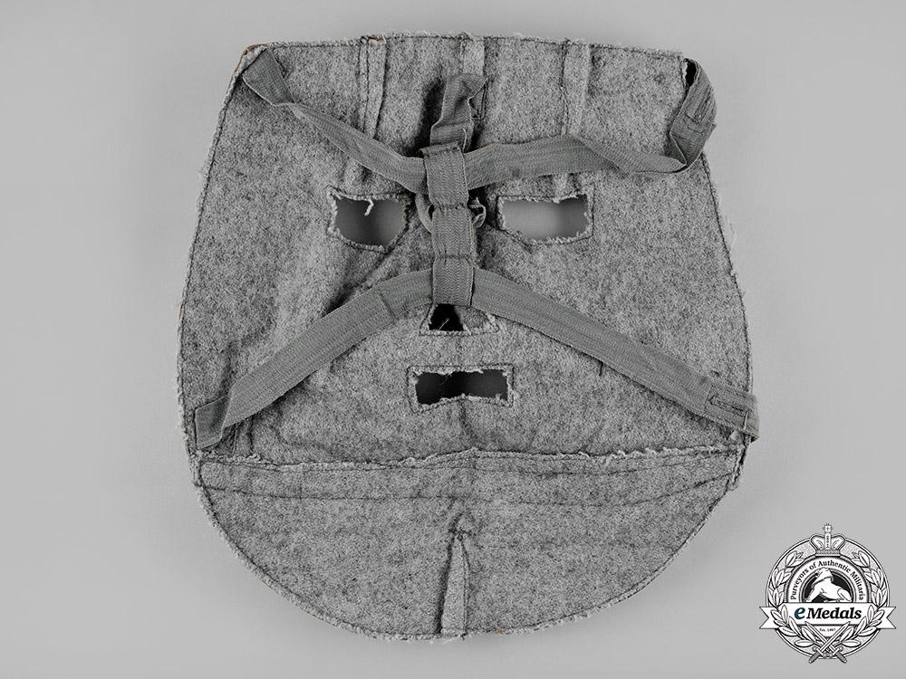 Germany, SS. A Waffen-SS Fall-Pattern Oak Leaf Camouflage Mask