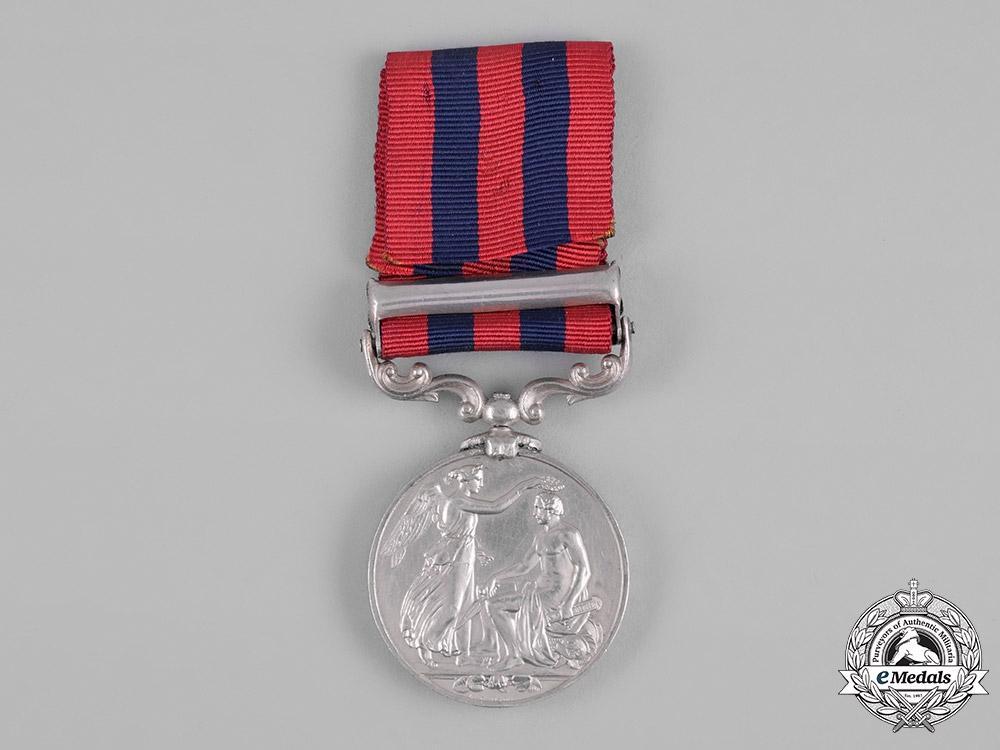 United Kingdom. An India General Service Medal 1854-1895, Falkland Sloop