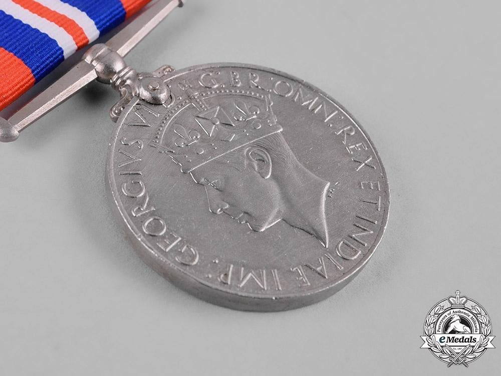 United Kingdom. A Second War Lot of Five War Medals 1939-1945