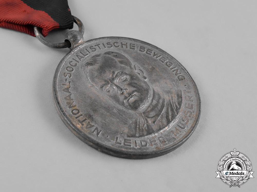 Netherlands, NSB. A Dutch National Socialist Movement (NSB) Medal