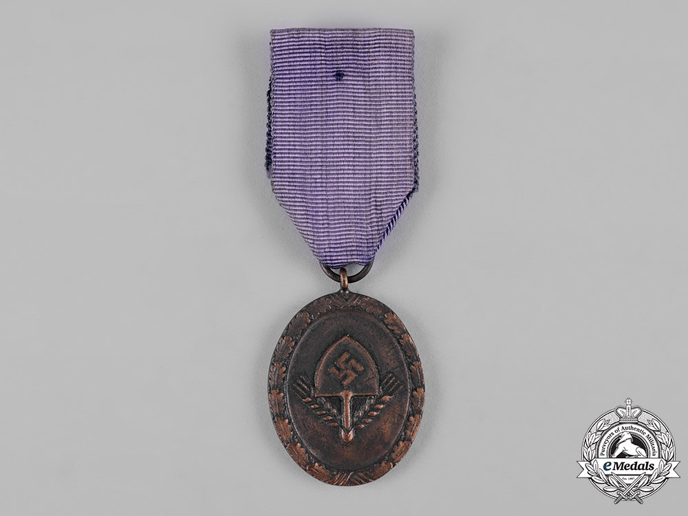 Germany, RAD. A Reich Labour Service 4-Year Long Service Badge
