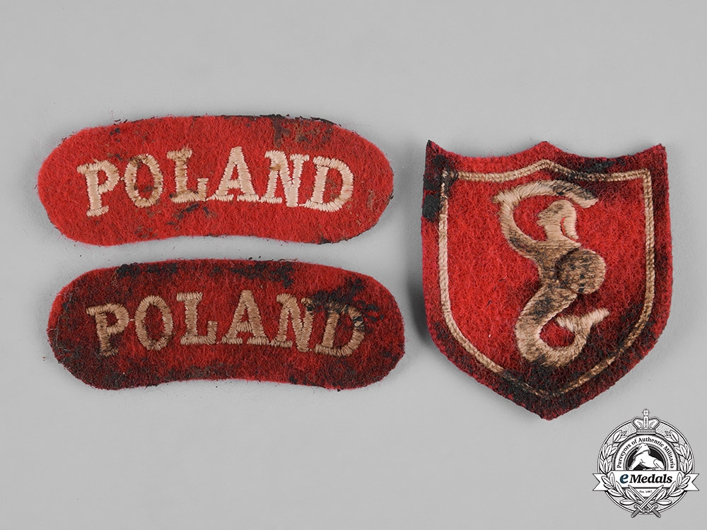 Poland, Republic. A Second War Group Attributed to Marian Andrzej Chroscicki, Free Polish Army
