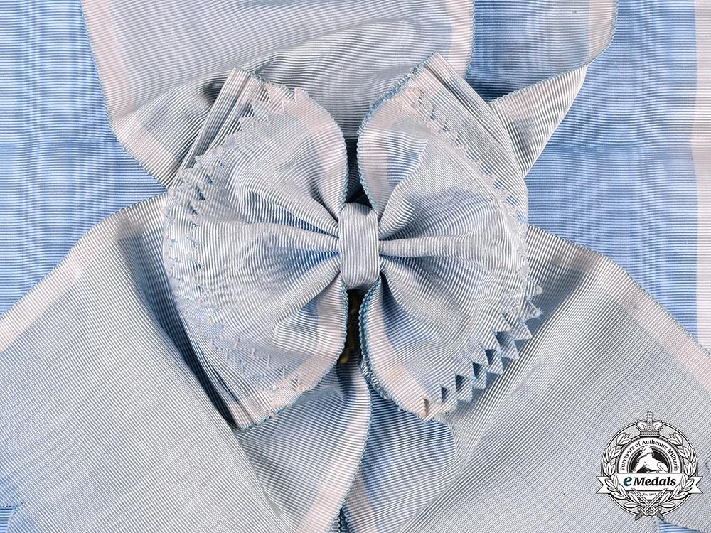 Greece, Kingdom. An Order of the Redeemer, I Class Grand Cross Sash
