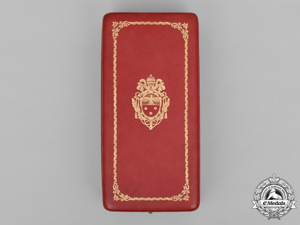 Vatican, City State. An Order of Pius IX, Grand Cross Case, by Tanfani & Bertarelli