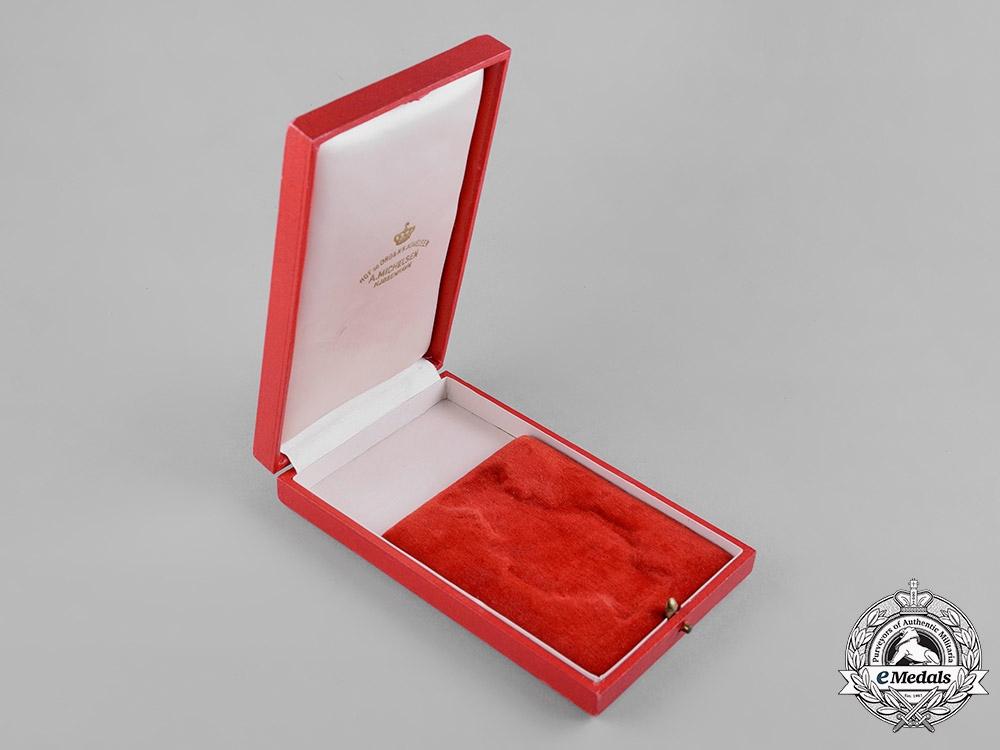 Denmark, Kingdom. An Order of Dannebrog, II Class Commander Case