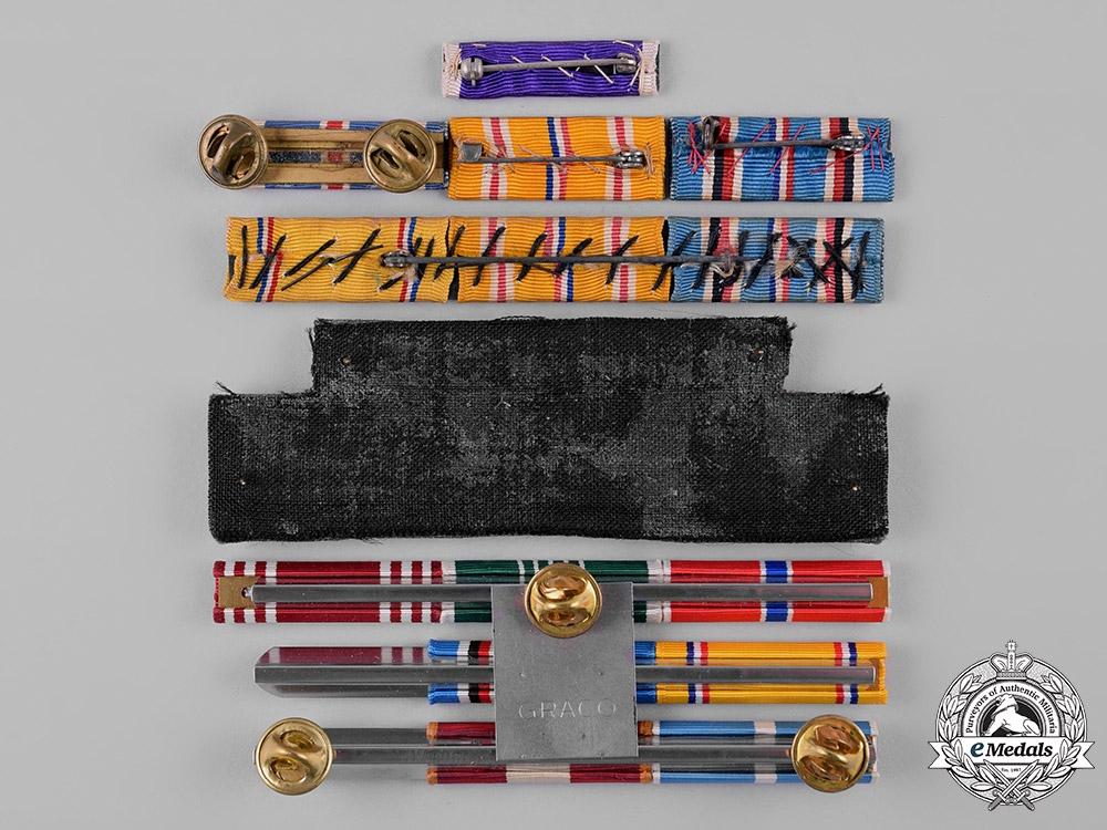 United States. A Lot of Ribbon Bars