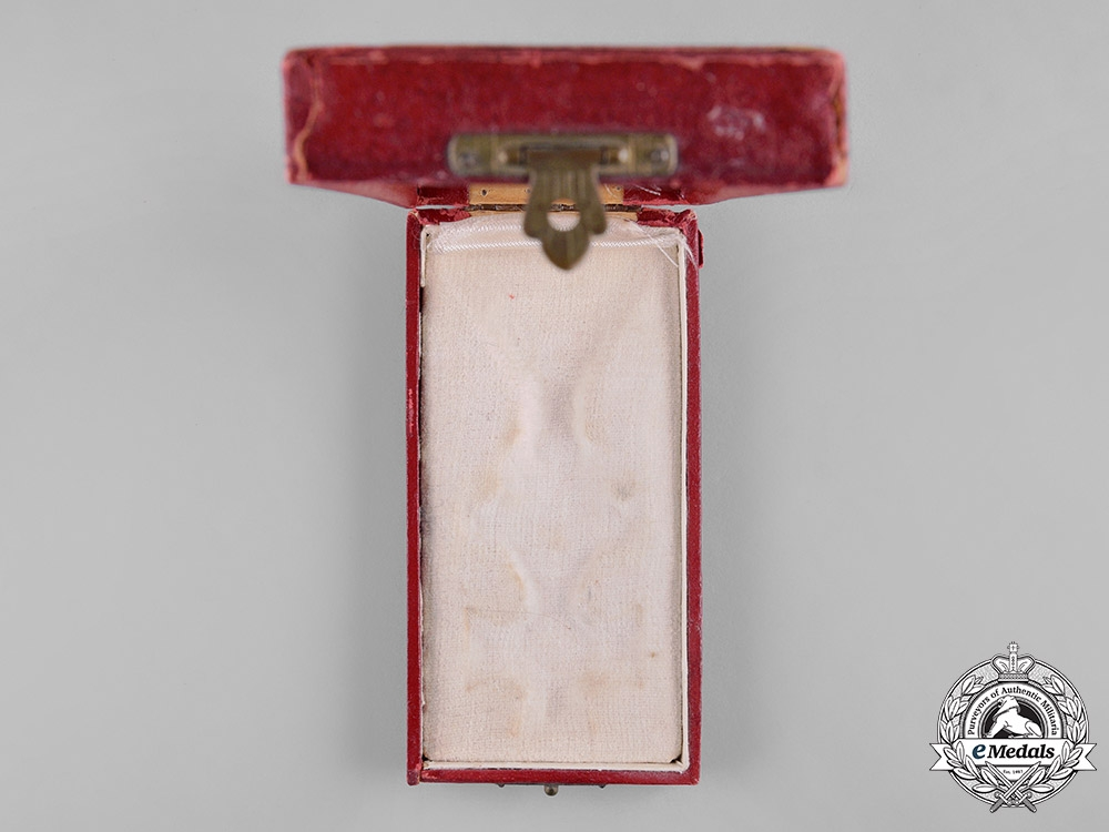 Bulgaria, Kingdom. An Order of St. Alexander, IV Class Officer with Swords Case