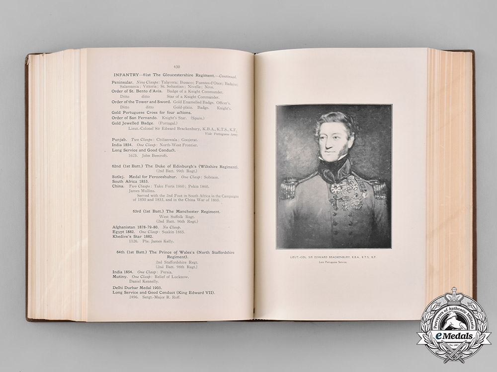 United Kingdom. A Handbook of British and Foreign Orders, War Medals, and Decorations by A.A. Payne, c.1911