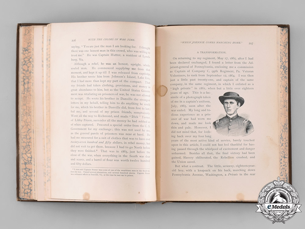 United States. Uncle Sam's Medal of Honor by Theophilus F. Rodenbough, 1886