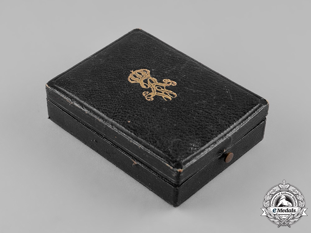 Prussia, Kingdom. An Order of the Crown, III Class Cross Case