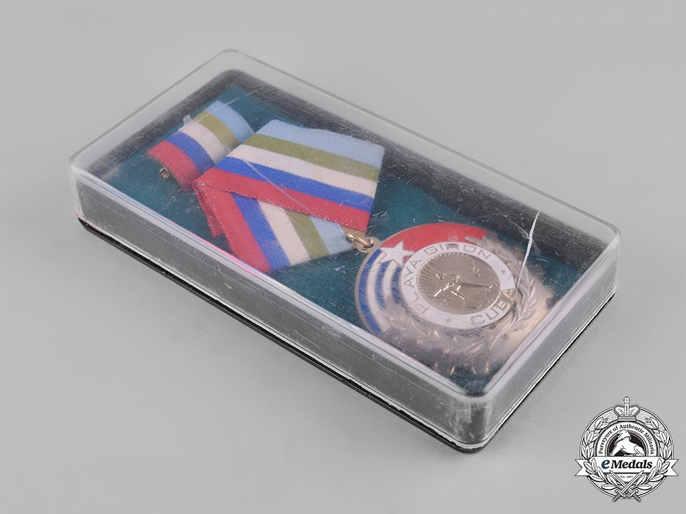 Cuba, Socialist Republic. An Order of Playa Girón, Single Class, c.1980