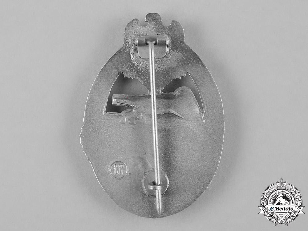 Germany, Heer. A Panzer Assault Badge, Silver Grade, by E. Ferdinand Wiedmann