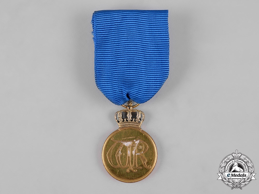 Prussia, Kingdom. An Order of the Crown, Gold Medal