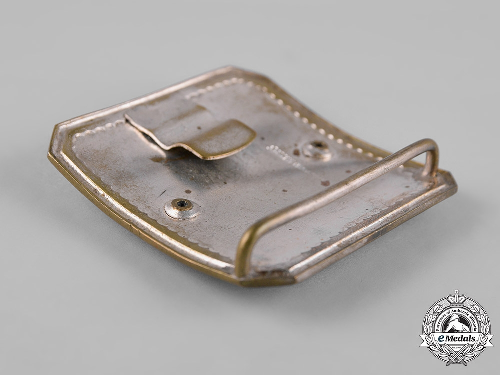 Yugoslavia, Kingdom. Army Officer's Belt Buckle c. 1935