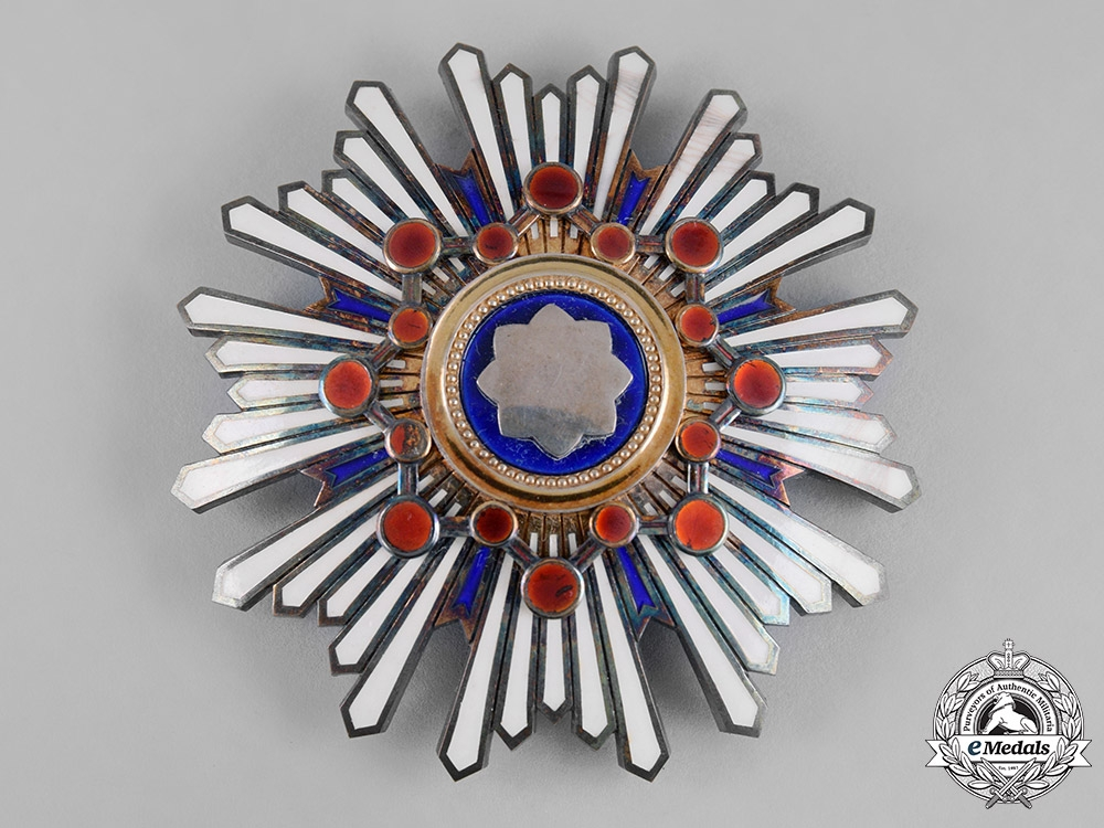 Japan, Empire. An Order of the Sacred Treasure, I Class Star, c.1920