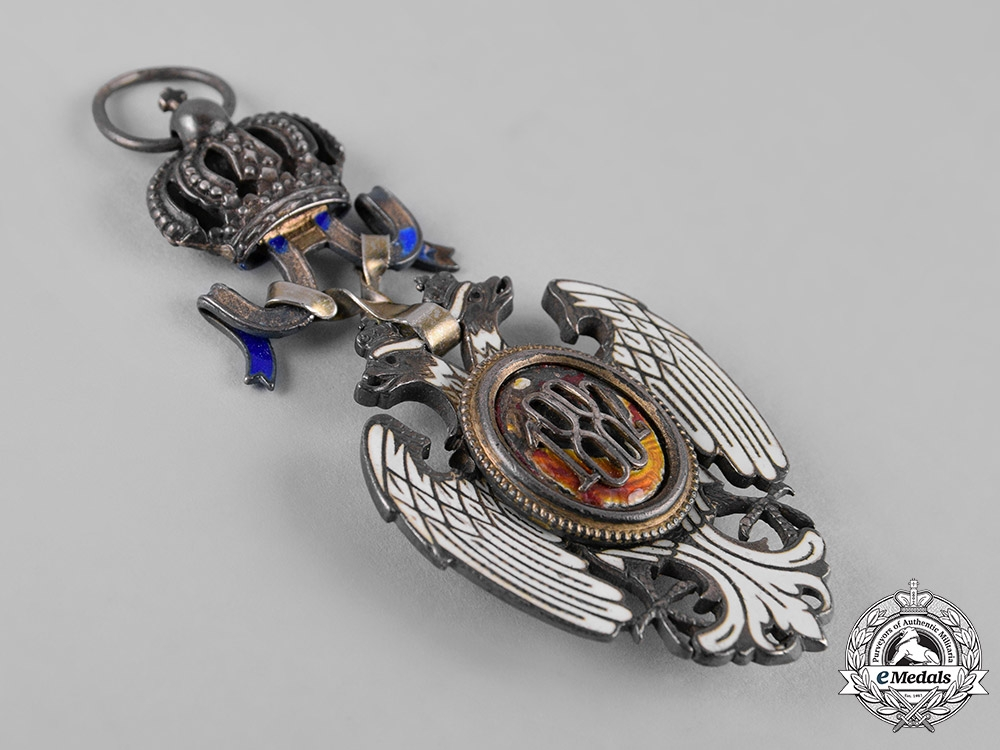 Serbia, Kingdom. An Order of the White Eagle, V Class