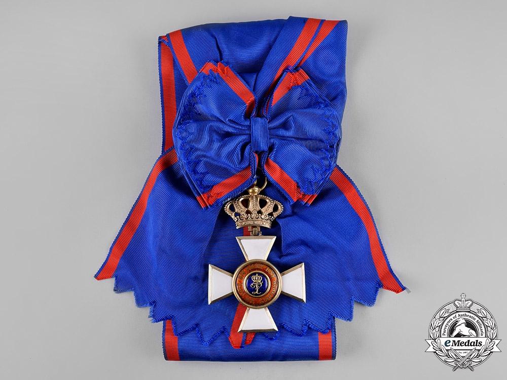 Oldenburg, Grand Duchy. A House Order of Duke Peter Friedrich Ludwig, Civil Division, Grand Cross, c.1870