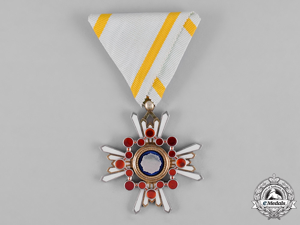 Japan, Empire. Order of the Sacred Treasure, V Class